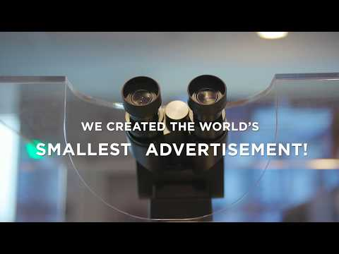 ASML World Record Smallest Advertisement