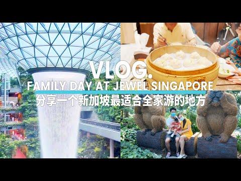 Family Day at Jewel Singapore | 分享一个新加坡最适合全家游的地方