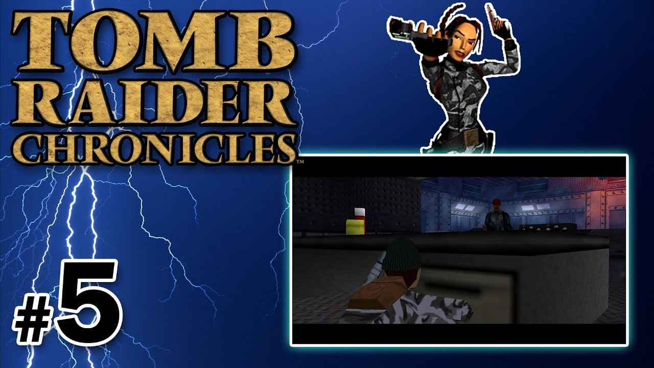 "Let's Play: Tomb Raider V: Chronicles odc. 5 – The Base – ""Miły pan z dźwigiem"""
