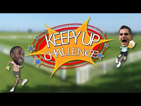 Tennis Ball Keepy-Up Challenge: Jermain Defoe