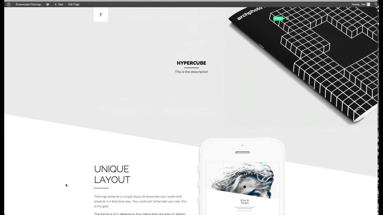 Creating pages with flamingo agency freelance portfolio theme creating pages with flamingo agency freelance portfolio theme maxwellsz