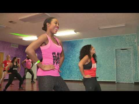 Chardelle Moore Trys Movez Dance Fitness!