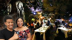 We Ate At A Cave Restaurant In The Dominican Republic