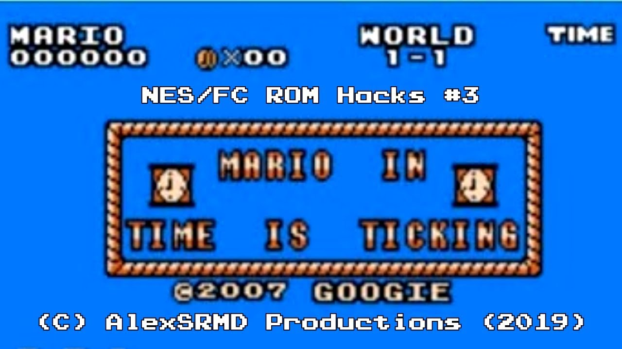 NES/FC ROM Hacks #3 - Mario in Time is Ticking! (SMB Hack)