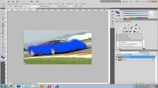 Смена цвета обьекта Adobe Photoshop CS5 - Видео-урок.