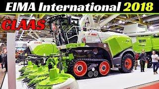 EIMA International 2018 - Claas Tractors, Harvesters & More! - Axion 870, Tucano 560, Jaguar 960