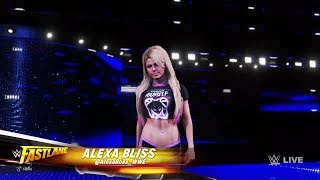 WWE 2K20 - Naomi and Alicia Fox VS Mickie James and Alexa Bliss