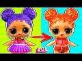 Панки в шоке от трансформации куклы лол сюрприз в салоне красоты Мультик LOL Dolls mp3