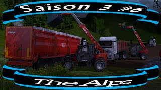 FARMING SIMULATOR 15 / The Alps / Nouvelle saison ep 6 / multi