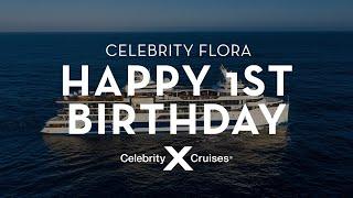 Celebrating Celebrity Flora's 1st Birthday