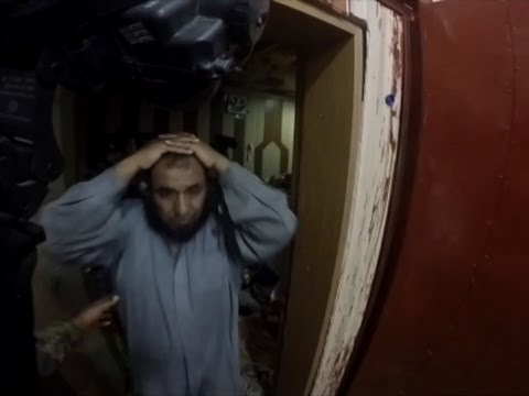 Helmet Cam Video Shows Raid On ISIS Prison Where U S  Delta