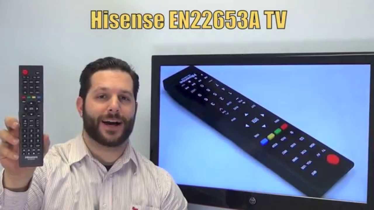 HISENSE EN22653A TV Remote Control - www ReplacementRemotes
