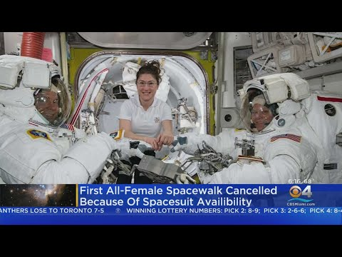 NASA Cancels First All-Female Space Walk
