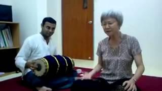 Goh Beng Choo singing Vinayaka ninnu