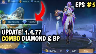 SCRIPT 14.000 DIAMOND 1,6 JUTA BATTLE POINT MOBILE LEGENDS TERBARU MEI 2020 LUO YI MLBB INDONESIA