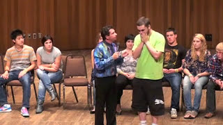 Hypnotist makes simple task impossible