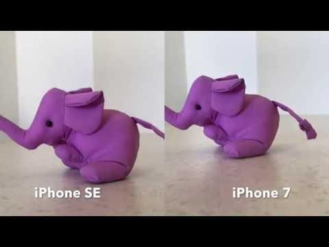 iPhone 7 vs iPhone SE 4k video