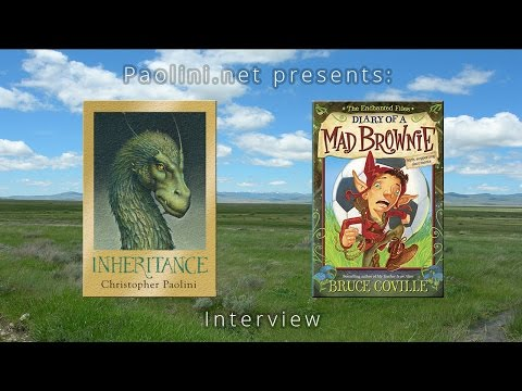 Christopher Paolini Interviews Bruce Coville