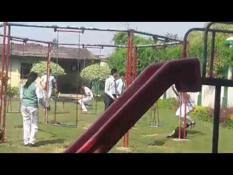 STUDENT of Delhi public school Jamshedpur falls from swing during doing stunt DPS