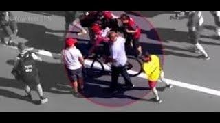 CHOC - Quand le vélo de Christopher Froome roule tout seul