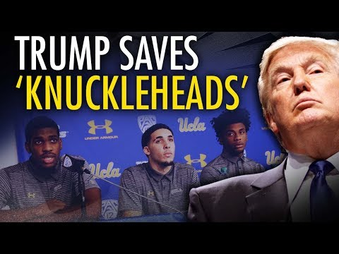 "Trump gets UCLA players released from China with ""art of the deal"""