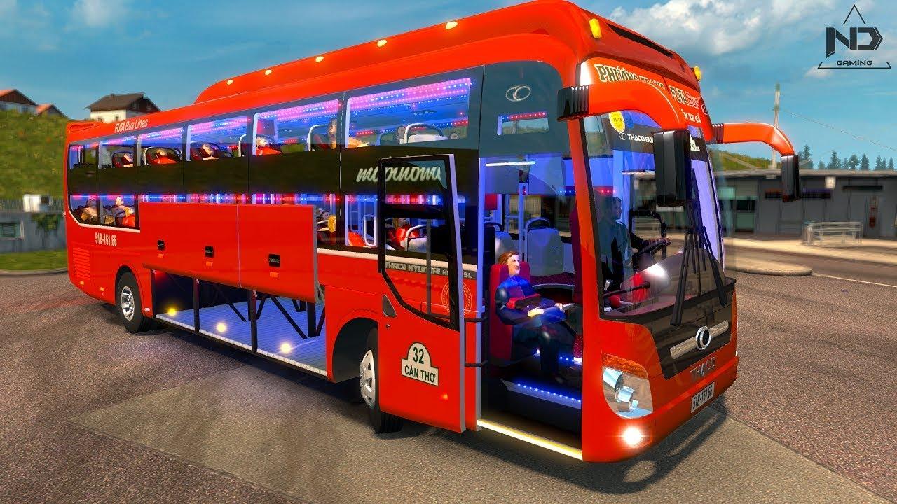 ETS2 Mod Xe giường nằm Phương Trang và chuyến xe về quê | ND Gaming