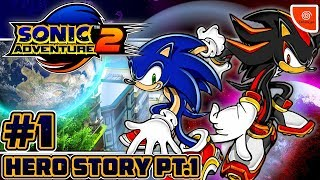 Sonic Adventure 2 Battle PSN (1080p) - Part 1: Hero Story Co-op (1/4)