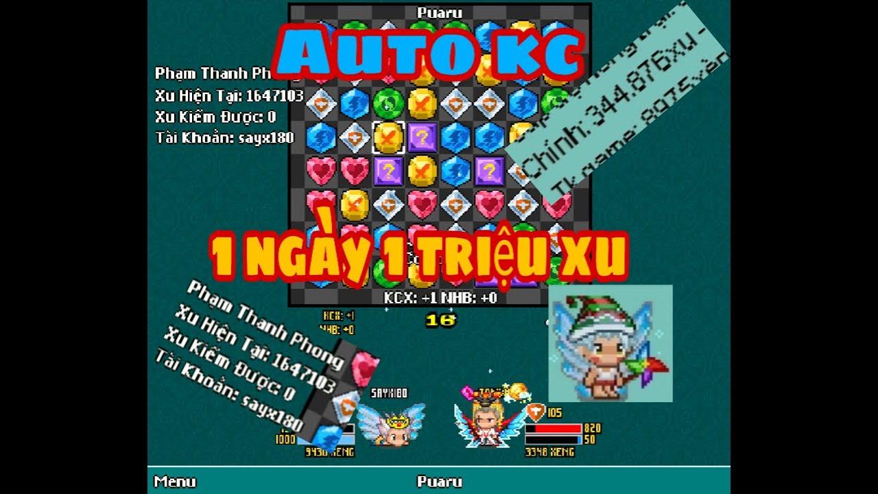 Avatar2D| Hướng dẫn cách tải, sử dụng phiên bản Auto treo up xu , Auto kim cương, 1 ngày 1 triệu xu.