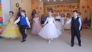 """Танец """"Первоклашки"""" МАДОУ г. Мурманска №19"""