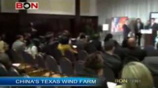 China to build the largest wind farm in US - BON 091105