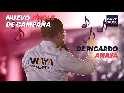 Ricardo Anaya estrenó el primer jingle de su campaña