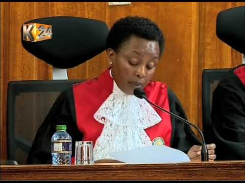 Supreme court Judges blame IEBC for mismanaging August poll