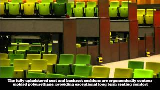 Camatic Evoke seat at the Melbourne Convention Centre