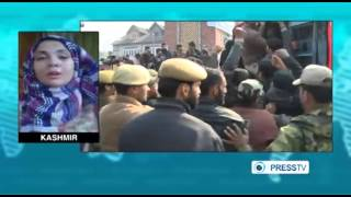 India forces clash with Kashmir Muslims