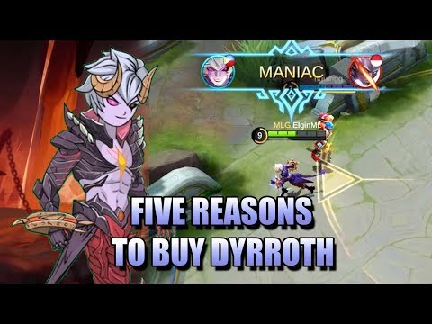 FIVE REASONS WHY DYRROTH IS WORTH BUYING - WATCH ME AT NONOLIVE!