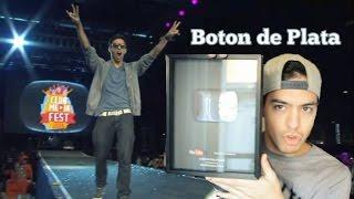 BOTON DE PLATA Y EL #ClubMediaFest - Gonzaa Fonseca