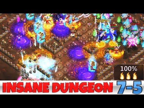 Helping A Subscriber #1 | INSANE DUNGEON 7-5 | CASTLE CLASH