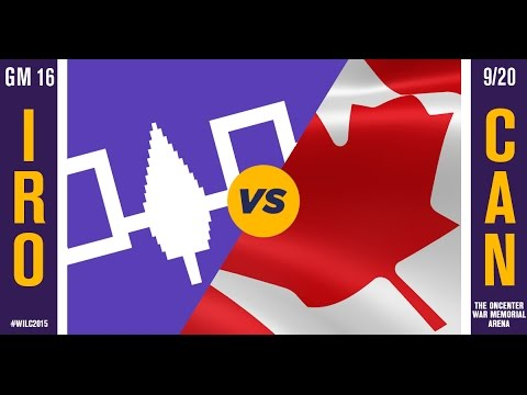 WILC 2015: Game 16 - Iroquois vs. Canada