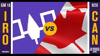 WILC 2015: Game 16 - Iroquois vs. Canada(, 2015-09-24T17:45:01.000Z)