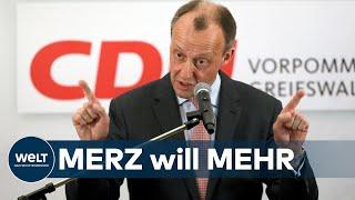 CDU-VORSITZ Friedrich Merz will heute seinen Hut in den Ring werfen