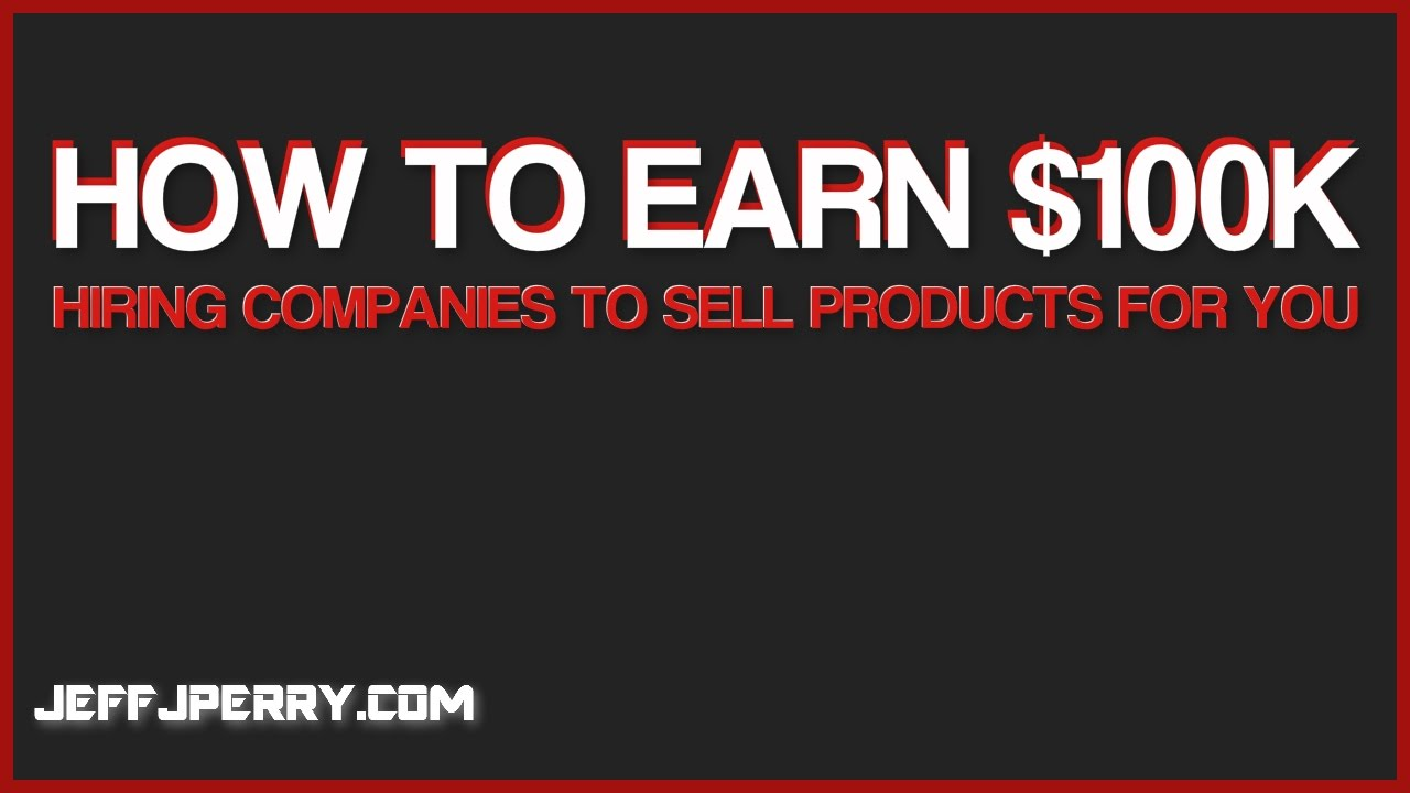 How to make 100k per year online in 2017 - YouTube