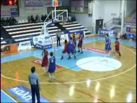 Alex Angelakos Basketball Highlights 2010-2011 Part 1