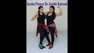 Zumba Fitness on Jimikki Kammal Song | zumba Fitness | dance Fitness