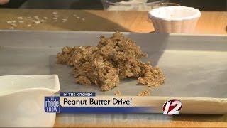 Cooking: Peanut Butter Granola, Pb & Banana Quesadilla