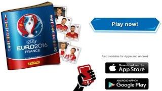 FREE CODES + OPENING PACKS! ⚽️ panini UEFA EURO 2016 France VIRTUAL ONLINE Sticker Album