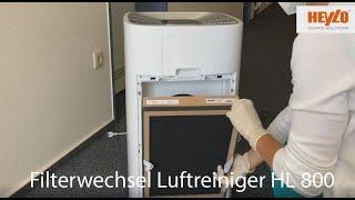 HEYLO TV: Filterwechsel beim Luftreiniger HL 800 #heylotv #Luftreiniger #Filterwechsel