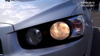 Тест-драйв автомобиля Chevrolet Aveo