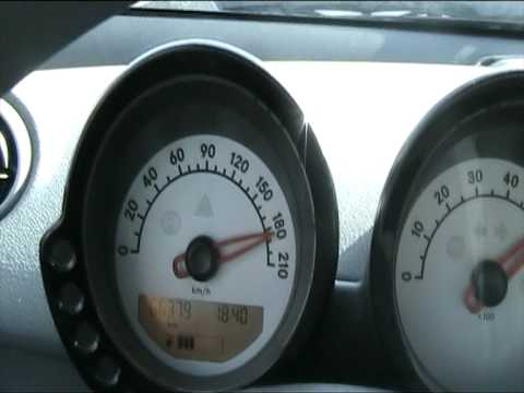 Smart forfour 1.1 Top speed 200km/h - YouTube