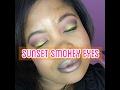 SUNSET SMOKEY EYES | BEAUTYBYDIONNAD