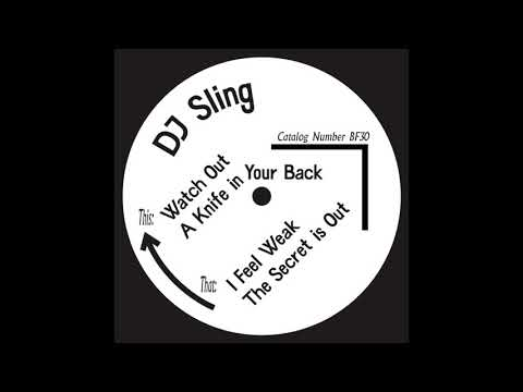 DJ Sling - The Secret Is Out
